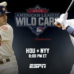 ONE. HOUR. http://t.co/rF4BJNa8YA AL #WildCard presented by @Budweiser http://t.co/AwdDVaOxPu