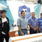 Ya esta en Olancho el León @CDOlimpia para jugar mañana con el Atlético Pinares. #CopaPresidente http://t.co/GjXxBjQpV3