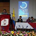Acto oficial de apertura del Congreso de Investigación y Pedagogía. Centro de Convenciones Tunja. @DinUptc http://t.co/zZz97EDwTh