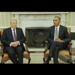 Pres Obama welcomes German Pres Joachim Gauck to the Oval Office. Calls him a great friend of the US. http://t.co/F9L6pSrTwD