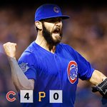 11 strikeouts through 8 IP for @JArrieta34. 🔥  #LetsGo http://t.co/aY8GwPY54c