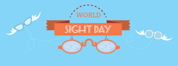 Today (Thu 8th Oct, 2015) is World Sight Day!  #worldsightday via @daysoftheyear Take care of your eyes http://t.co/spKRrAdIDl