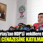 Demirtaş tehdit etti: PKKlı cenazesine katılmayan vekile... http://t.co/hdAzxKx6Mv http://t.co/geeiUVGlju