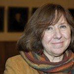 Nobel Edebiyat Ödülü Beyaz Rus yazar Svetlana Aleksiyeviçin http://t.co/GGGiJy9EjI