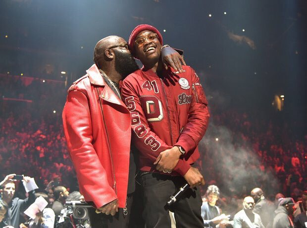 """Ross: """"Start one more beef wit a rapper that's better than you && MMG gunna stand for Meek Mill Gone"""""""