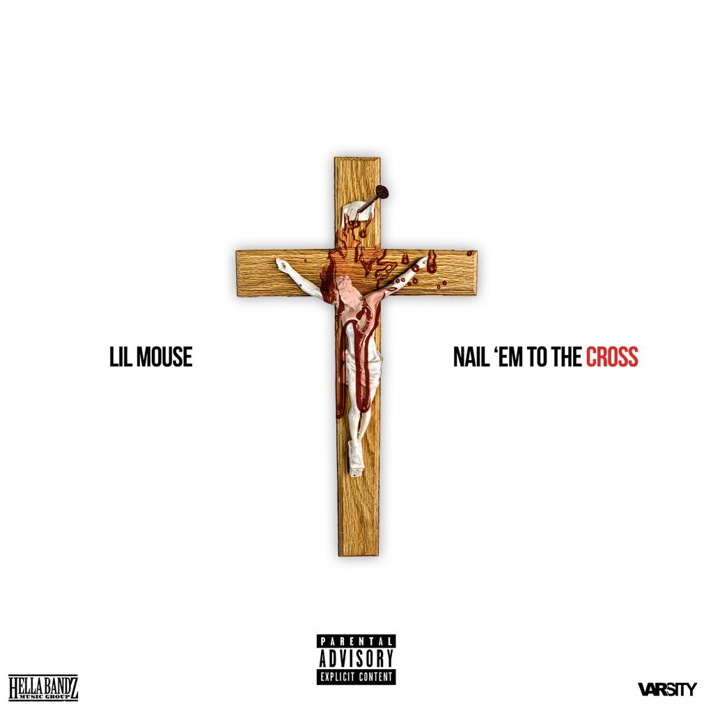 IG: LILMOUSE (@MouseMyers): Just when they thought mouse was done speaking facts. More Facts 2night! 9PM New Music!  #NailEmToTheCross