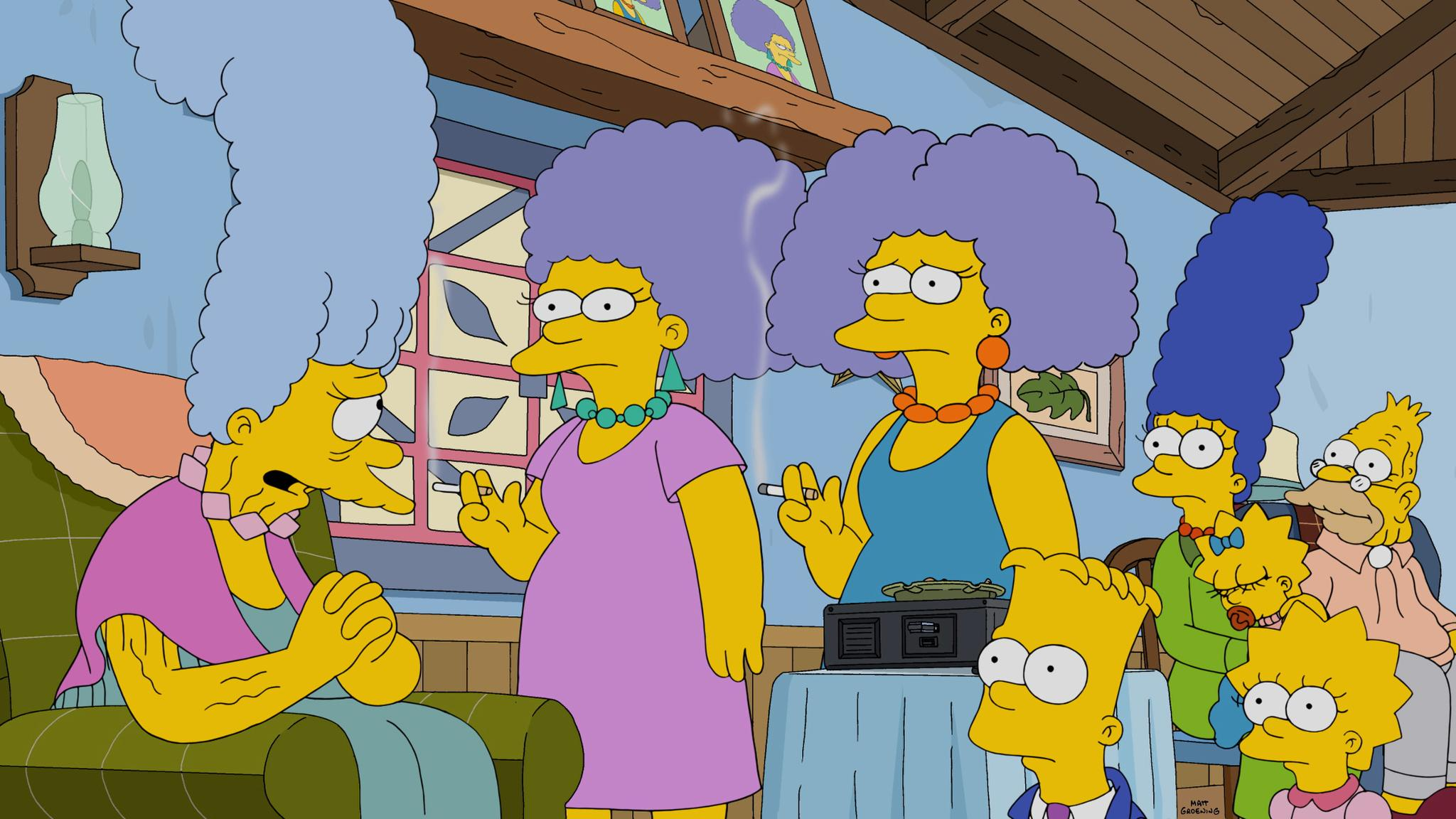 West Coast- get ready for Grandma Bouvier's bombshell RIGHT NOW on #TheSimpsons! http://t.co/miWP59wT9n