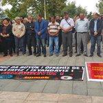 KESK ve DİSKin Ankaradaki katliamdan dolayi almış olduğu greve destek için yeşilsudayız.İNADINA BARIŞ. http://t.co/Mo5TBC7Hxx