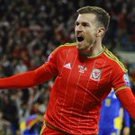 The Welsh are partying in Cardiff as goals from Aaron Ramsey & Gareth Bale see them run out 2-0 winners. #EURO2016 http://t.co/VZNT8QcNv0