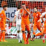 Night of drama as Van Persie scores own goal, Netherlands fail to qualify for #EURO2016 http://t.co/ffeS8wYznT http://t.co/K2PwNlPyJn