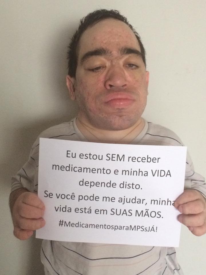 @jose_simao Preciso muito de sua ajuda. Nós, pacientes de Mucopolissacaridoses, estamos sem medicação há + d 60 dias http://t.co/T6Q5AuK9bC
