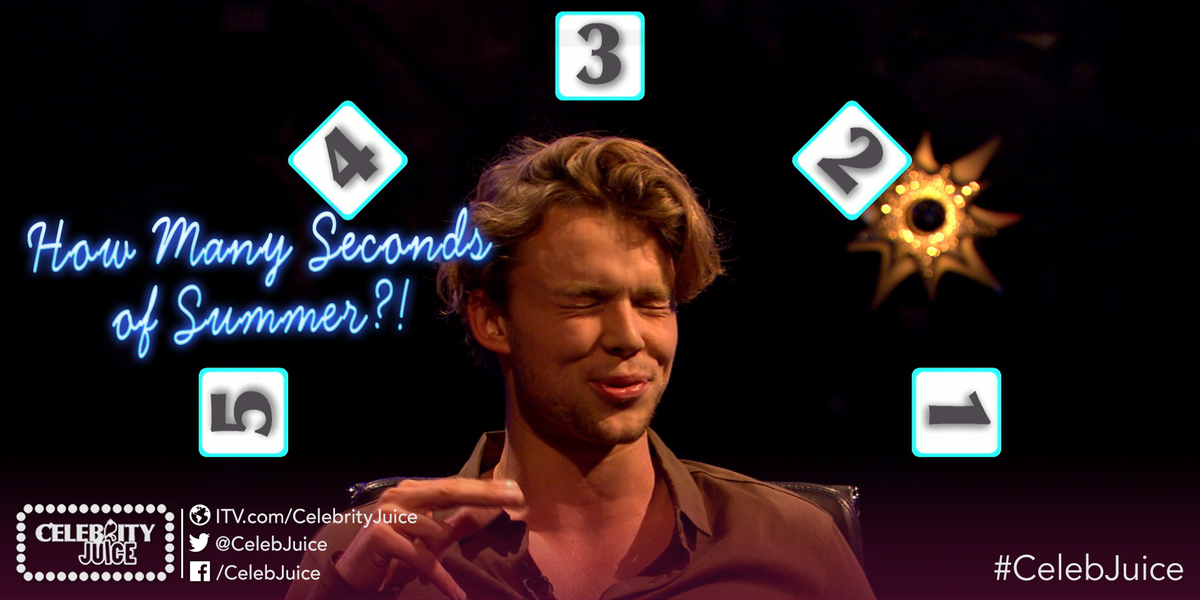 Bless him, he's not the best at this game is he! @ashton5sos @5SOS #5sosOnJuice #celebjuice http://t.co/FcquwmgYQZ