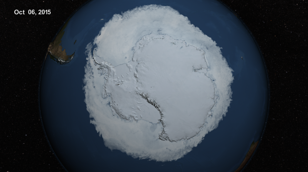 2015 Antarctic Maximum Sea Ice Extent Breaks Streak of Record Highs http://t.co/tGTTrJHXq3 http://t.co/umDRmJJjHC