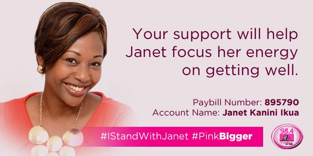 #IsupportAnjlee and #IStandWithJanet in equal measure. There smiles put CANCER to shame, smile for them too ☺️ http://t.co/KuhPmlejf4