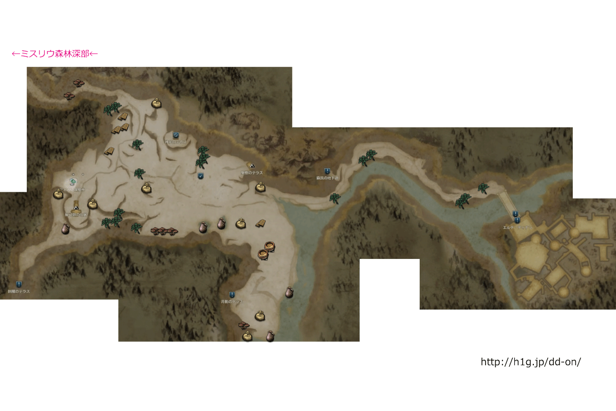 【DDON】「ディナン深層林」の採集マップが完成! - 【DDON道中記】 http://t.co/X1DiU5iG4M 今はそのへんに落ちてる素材が高額ですからねー参考になれば幸いです #DDON #ドラゴンズドグマ http://t.co/UwShhtXtzn