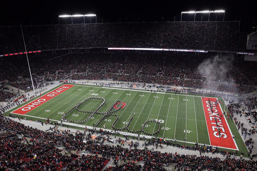 Dark Night in the 'Shoe. #GoBucks http://t.co/zJr6YPAnNy