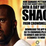 win a Shaq-A-Polco day. Let help this lil sweetie out, and of course I've donated You already know that  thanks http://t.co/5siVB3555m