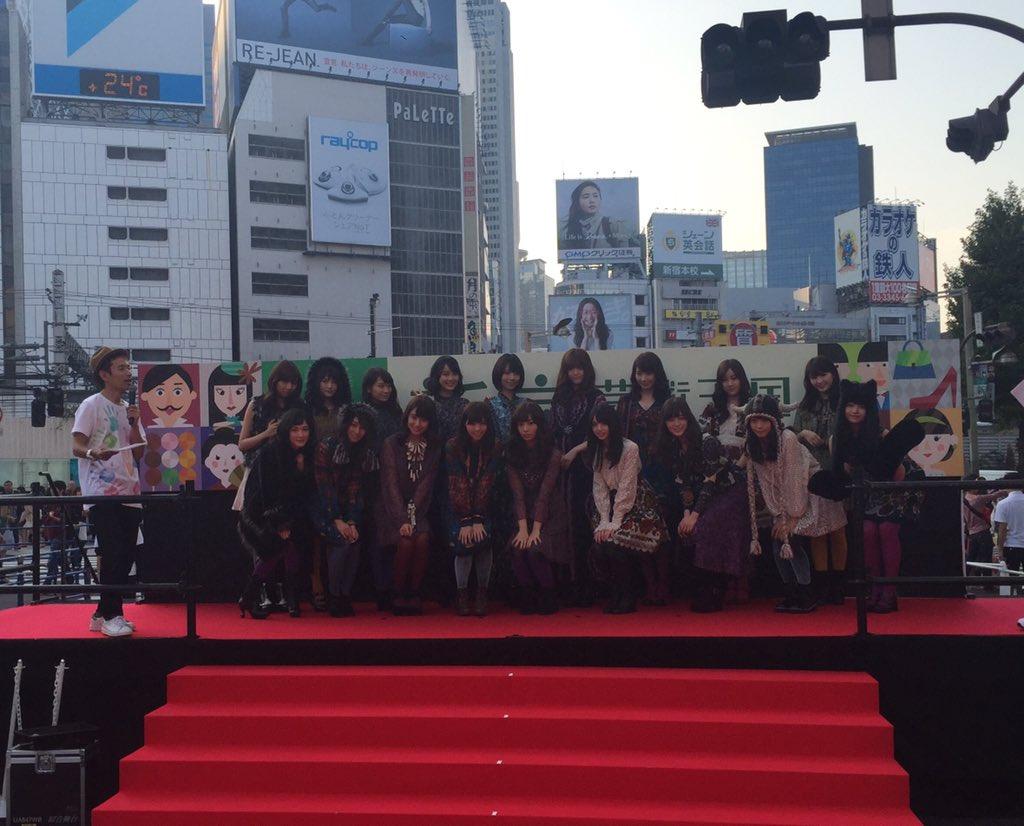 アナ スイ2015FWコレクションラインを着た乃木坂46のみなさん!最後に集合写真を撮ってクロージングです! https://t.co/sdLnInvvPt