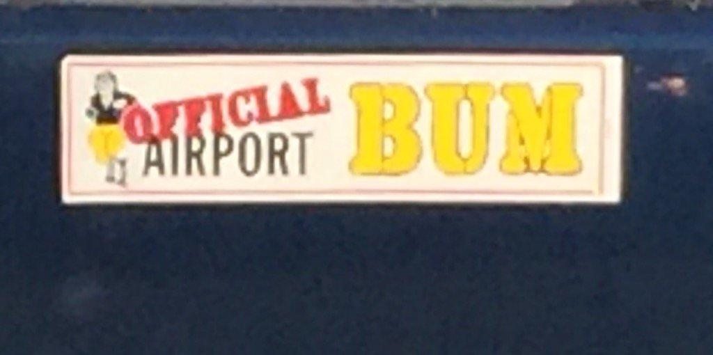 Bumper sticker seen at work.... Yep! Another #avgeek https://t.co/Jmmlm4faE1