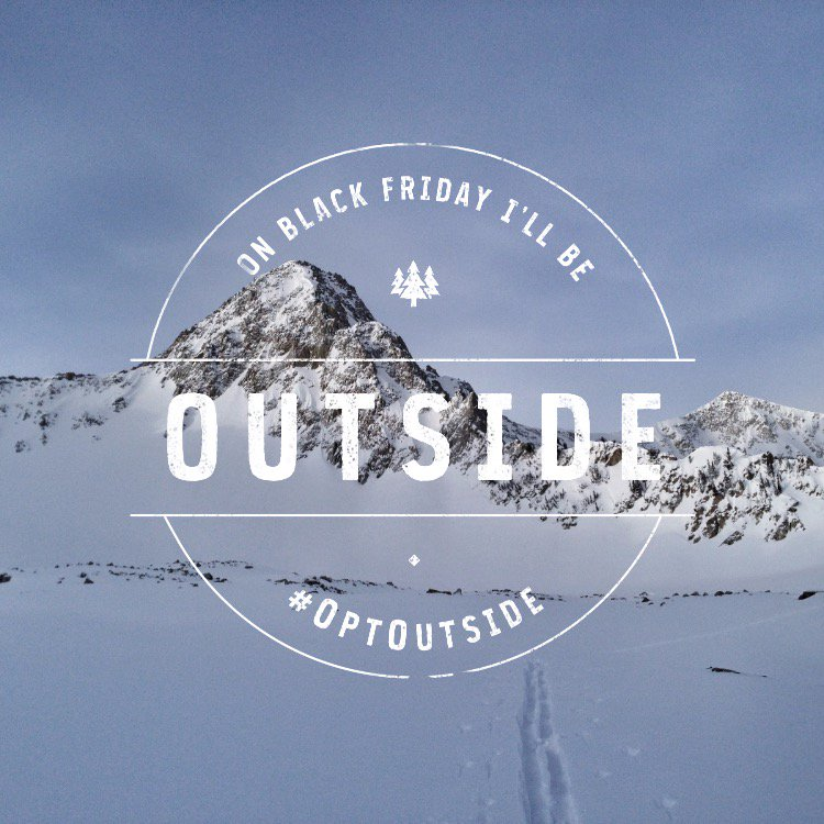 I'm stoked to stand with @REI as they close their doors on Black Friday and #OptOutside! Join me.   #sponsored https://t.co/6ctmQ7RSji