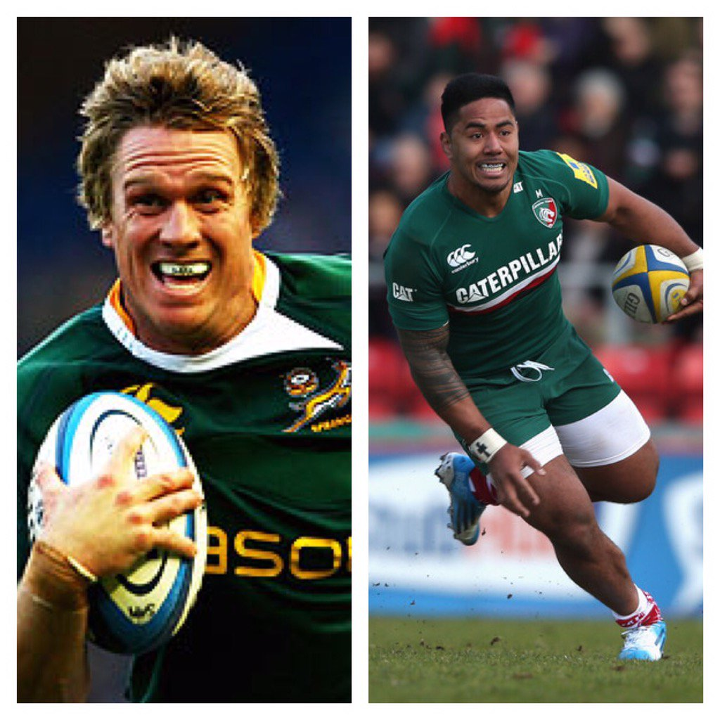 Awesome news that we have signed Jean De Villiers, I can't wait to see these two bossing the midfield. #scary https://t.co/5VIuNvt8qn