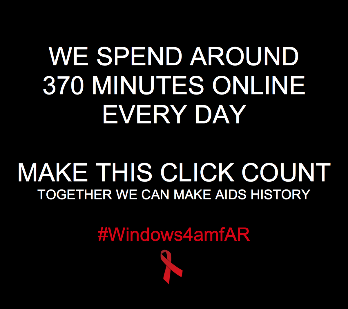 .@Windows will direct $1 for each RT to support our fight against AIDS (up to 25k). #amfARInspiration #Windows4amfAR https://t.co/JopAl0xe56