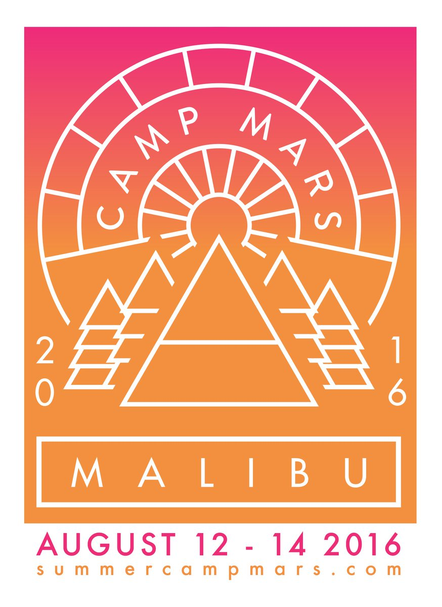 MISSED THE BIG NEWS? @SummerCampMars 2016 is OFFICIAL! Details WEDS, NOV 4. https://t.co/uhdPT2dSE0 #CampMars https://t.co/wbnBsSnBbx