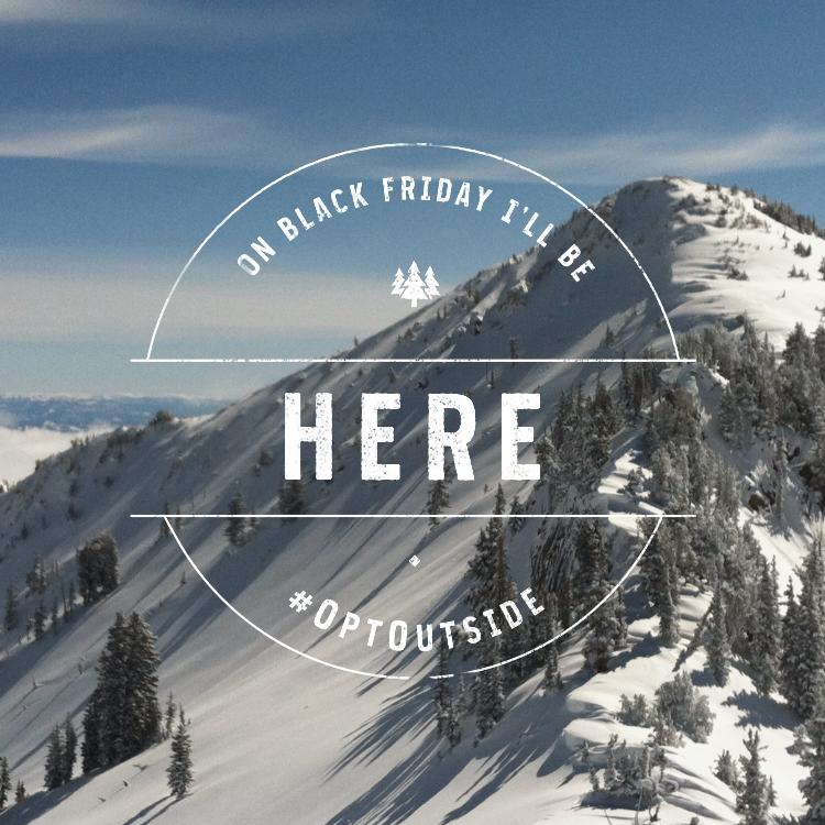 I choose untracked lines over retail lines. Share how you'll #OptOutside on Black Friday https://t.co/kNzqfbDubp #ad https://t.co/Mh5i4ULrEw