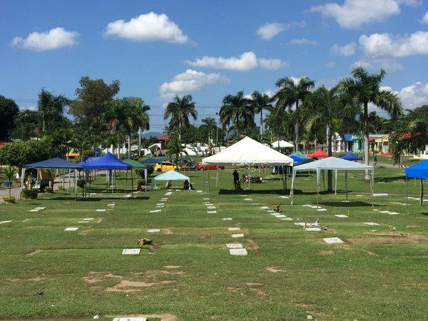 Situation At Holy Gardens Evergreen Memorial Park In San Pascual, Batangas.  (Photos Via
