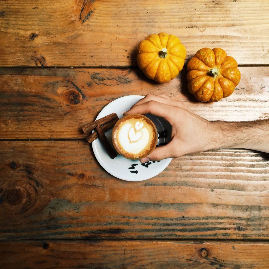 Introducing our seasonal signature beverage: the Pumpkin Cortado. Espresso + real pumpkin; available now! https://t.co/gcAcprnMkx