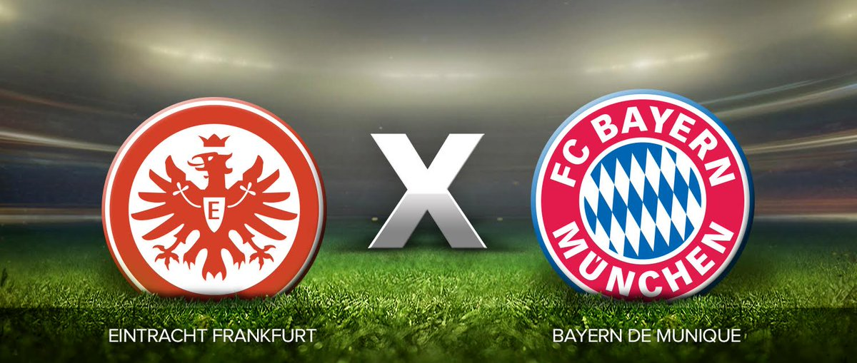 Resultado de imagem para Eintracht Frankfurt x Bayern de Munique