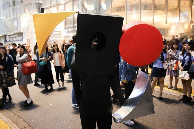 ネットでみんなのハロウィンの仮装を見てたけど、、 この人が一番だと思う