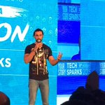 Grt event! Had a chance to interact wit some of the most brilliant entrepreneurs at #techsparks Thanku @YourStoryCo https://t.co/av9RaBk9pg