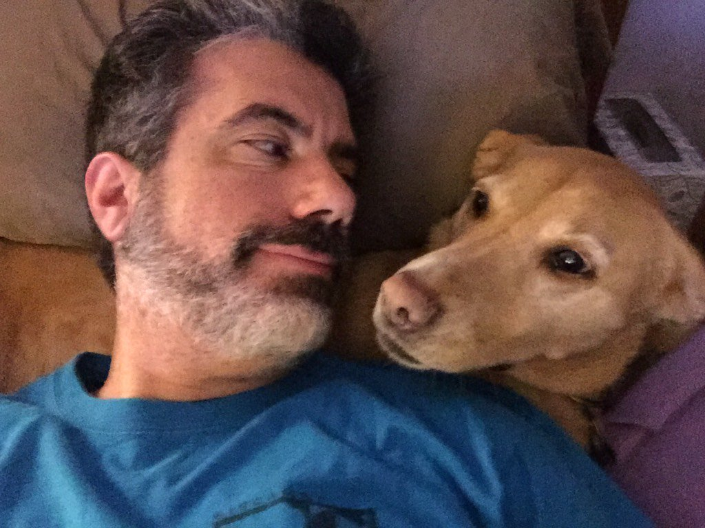 @pupaid yes.  Rescue pets make the best, most loving companions. #MollyTheWonderDog agrees. #Adoptdontbuy https://t.co/d3KiP8wMwF