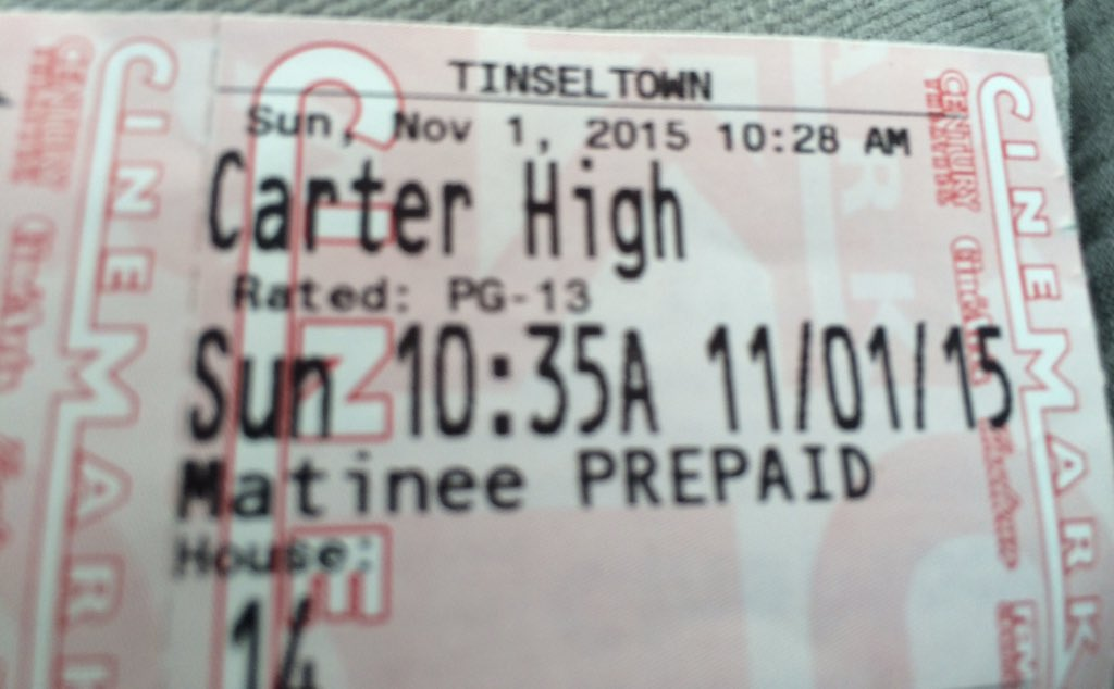 Me & husband enjoyed #CarterHighMovie @CarterHighMovie @a_muhammad_film @THEREALBANNER @MsVivicaFox https://t.co/di4X9sEUGS