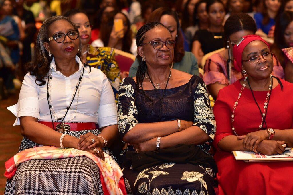 """3 amazing women,each with the title """"Chairman"""" to 3 of the biggest banks in Africa. Women doing big things! @Wimbiz https://t.co/KH9RiL0dL0"""