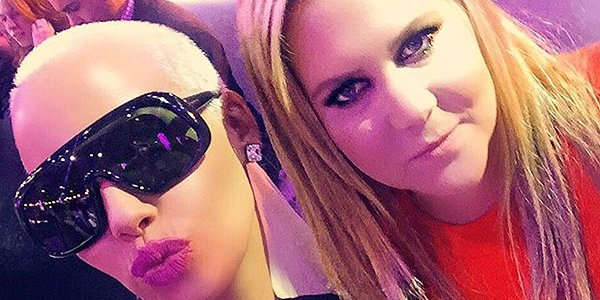 Amy Schumer and Amber Rose are the new BFFs you didn't know you always wanted