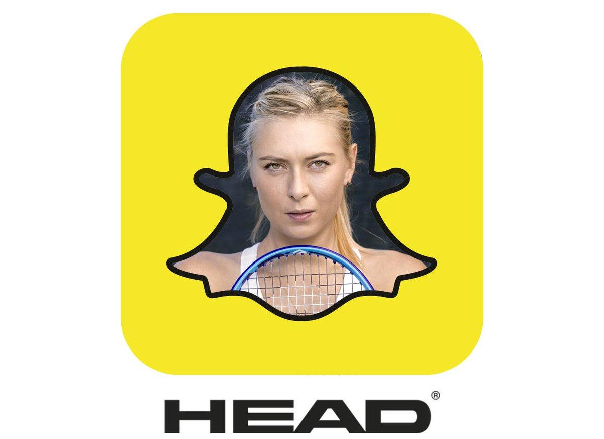 RT @head_tennis: It's @MariaSharapova! Add us on Snapchat and get behind the scenesduringour shootingtoday. Username: headtennis https:/…