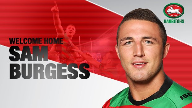 Welcome Home @SamBurgess8!  Full Story Here - https://t.co/yRE74AD7Te  #GoRabbitohs https://t.co/TZulZb6ZzJ
