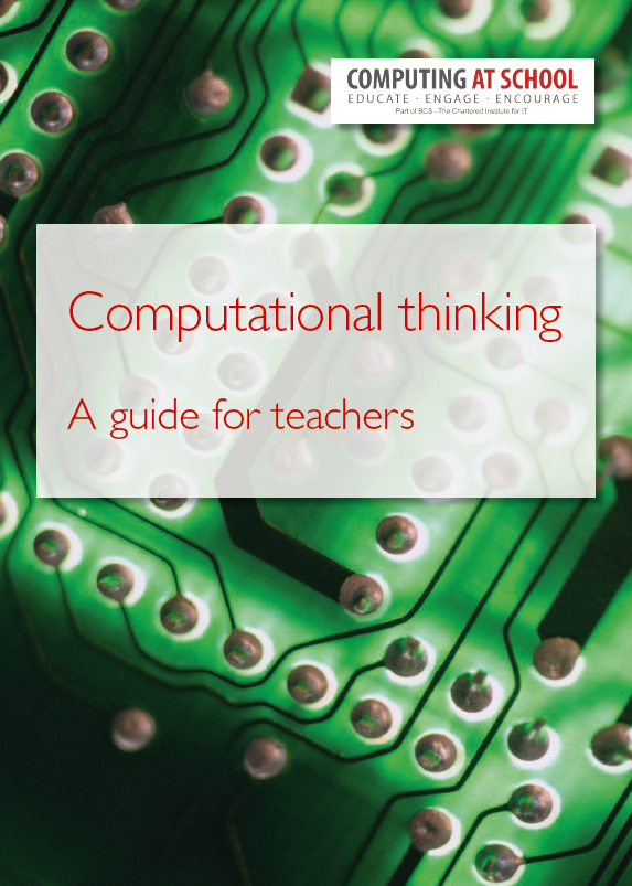Guidance on computational thinking for primary and secondary pupils published by CAS.  https://t.co/ldCqrMGxAG  #cas https://t.co/m028Eh6zWZ