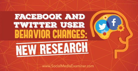 Is your business on Facebook and Twitter? This article shares how user behavior on Facebook  https://t.co/kVC6Ion99T https://t.co/4WR3xUhB6T
