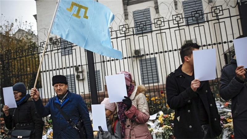 Ukraine parliament passes resolution recognising deportation of Crimea Muslims as 'genocide'