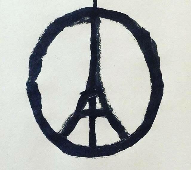Pray for Paris #peaceforparis https://t.co/3IskPIwKhF