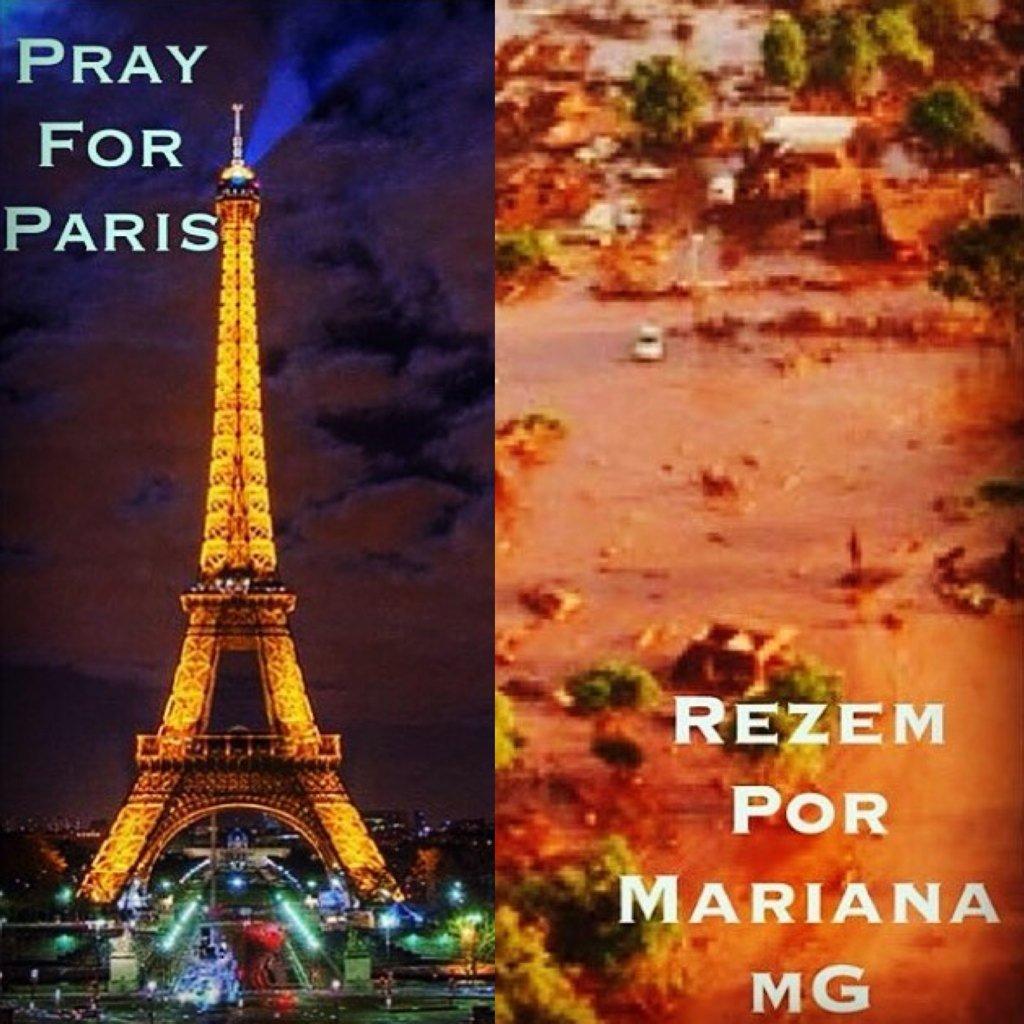 Vamos nos unir e rezar pela França, por Minas Gerais e por todos os que precisam neste momento de nossas orações