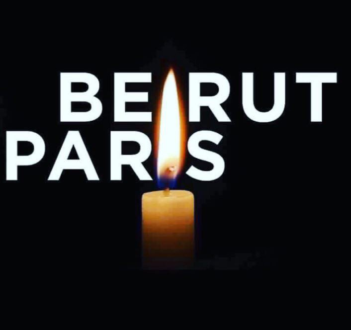 From Beirut to Paris; together we stand strong against terrorism #Beirut2Paris. Plz share https://t.co/hUXYRGOOna