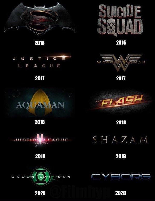 Чем DC будет отвечать Marvel: фильмы студии наближайшие четыре года. https://t.co/ktPhZ9TPYS