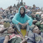 """Watch M.I.A. (@MIAuniverse) travel with a band of refugees in her """"Borders"""" video https://t.co/v5MVrJvcNK https://t.co/ZcYSyUYfc7"""