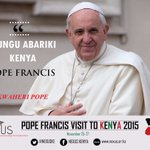 You have left a Nation blessed. We were glad to host you #KwaheriPope #MunguAibarikiKenya https://t.co/UQbI7Ko3fM