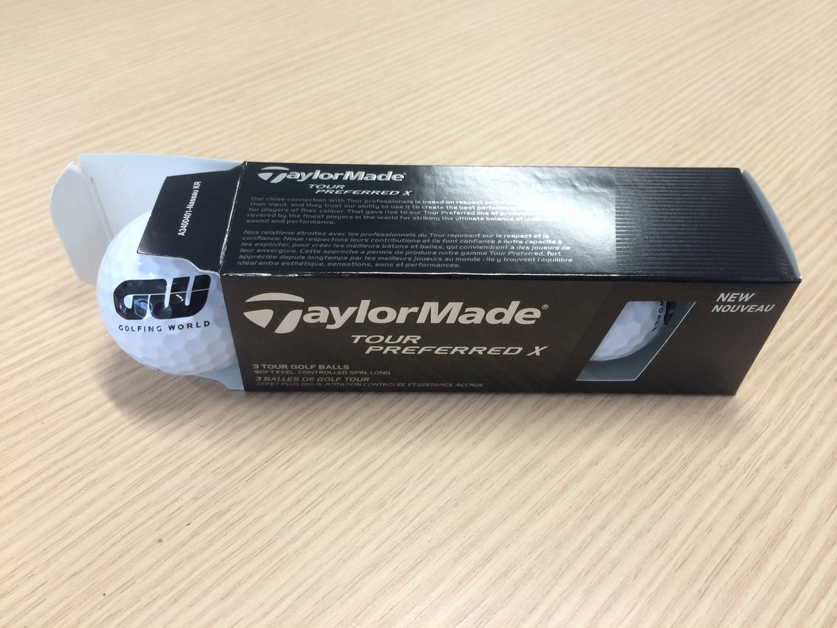 #BlackFriday #Giveaway - RT & Follow to try & win some limited edition @TaylorMadeGolf GW balls! https://t.co/ejLuN0xzvU