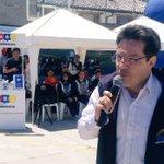AHORA: En colegio Camilo Ponce norte de #Quito inauguración del Festival de Arte Urbano #YoMeComprometo https://t.co/LwmrMFLAmz